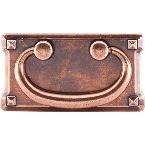 Top Knobs T-M236 Chateau II Old English Copper Drop Pull - KnobDepot.com