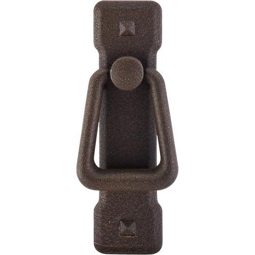 Top Knobs T-M237 Chateau II Rust Finger Pull - KnobDepot.com