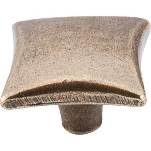 Top Knobs T-M254 Chateau II German Bronze Square Knob - KnobDepot.com