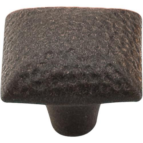 Top Knobs T-M262 Chateau II Rust Square Knob - KnobDepot.com