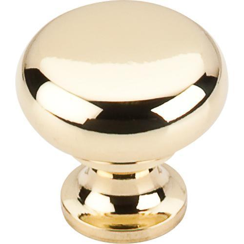 Top Knobs T-M269 Somerset II Polished Brass  Round Knob - KnobDepot.com