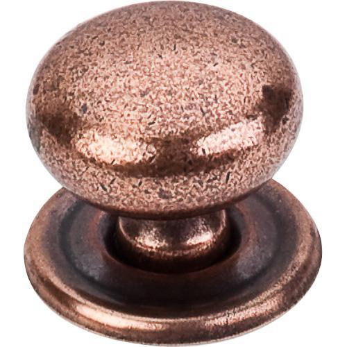 Top Knobs T-M26 Britannia Old English Copper Round Knob - KnobDepot.com