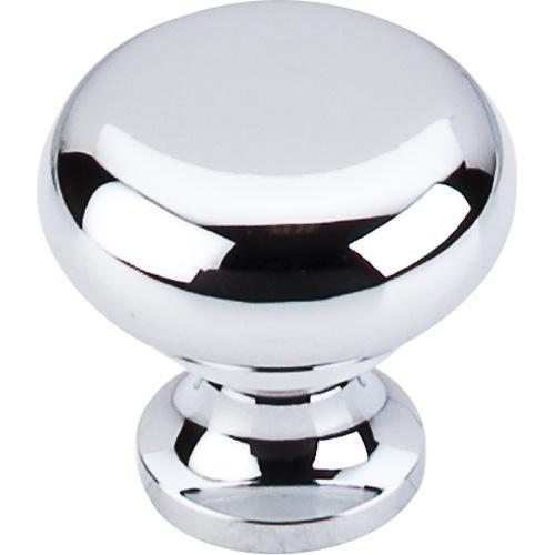 Top Knobs T-M270 Somerset II Polished Chrome Round Knob - KnobDepot.com