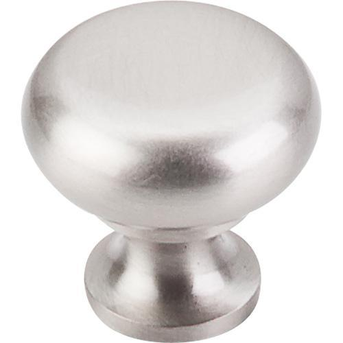 Top Knobs T-M271 Somerset II Brushed Satin Nickel Round Knob - KnobDepot.com