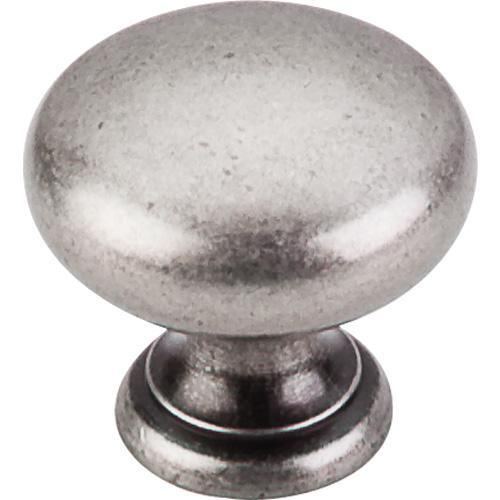 Top Knobs T-M286 Sanctuary II Antique Pewter Round Knob - Knob Depot