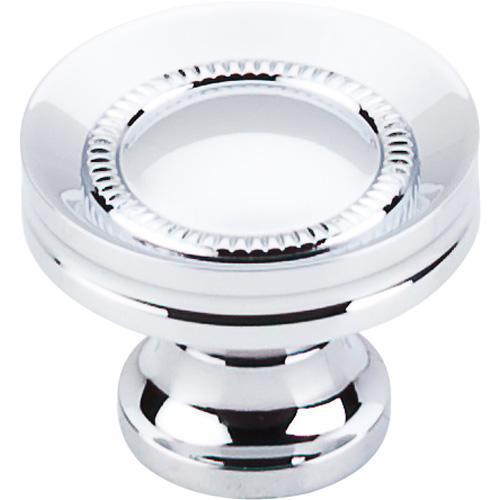 Top Knobs T-M291 Somerset II Polished Chrome Round Knob - Knob Depot