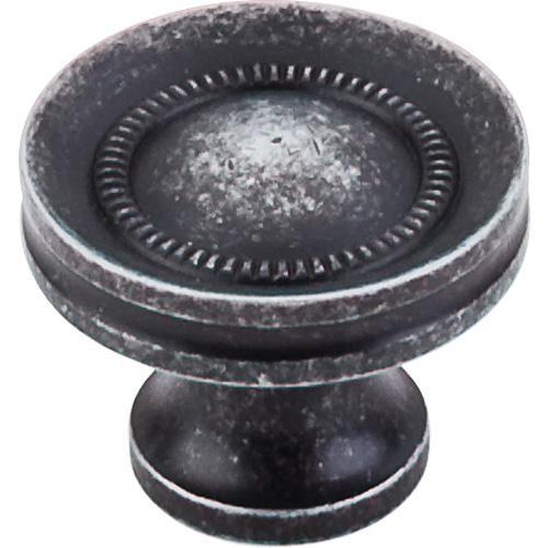Top Knobs T-M293 Somerset II Black Iron Round Knob - Knob Depot