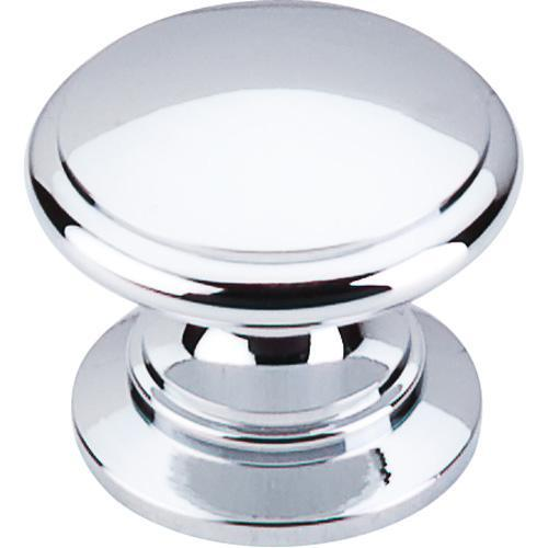 Top Knobs T-M350 Somerset II Polished Chrome Round Knob - KnobDepot.com