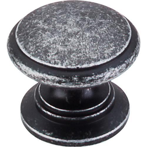 Top Knobs T-M353 Somerset II Black Iron Round Knob - Knob Depot