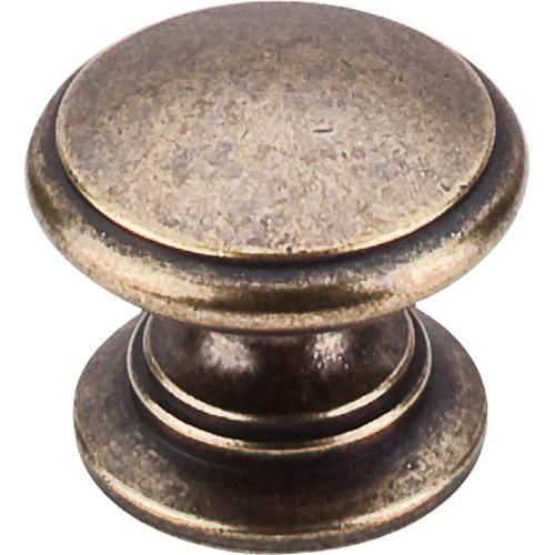 Top Knobs T-M355 Somerset II German Bronze Round Knob - KnobDepot.com