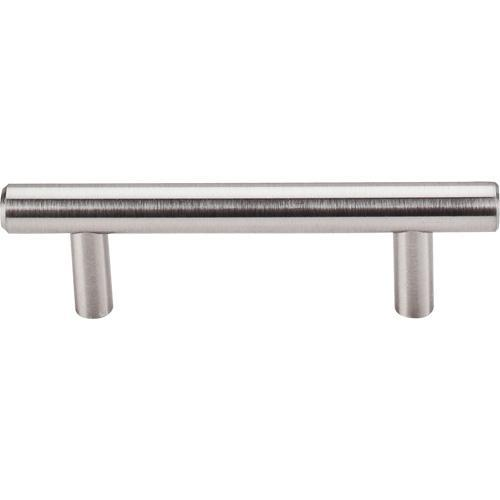 Top Knobs T-M429A Hopewell Bar Pulls Brushed Satin Nickel Bar Pull - Knob Depot