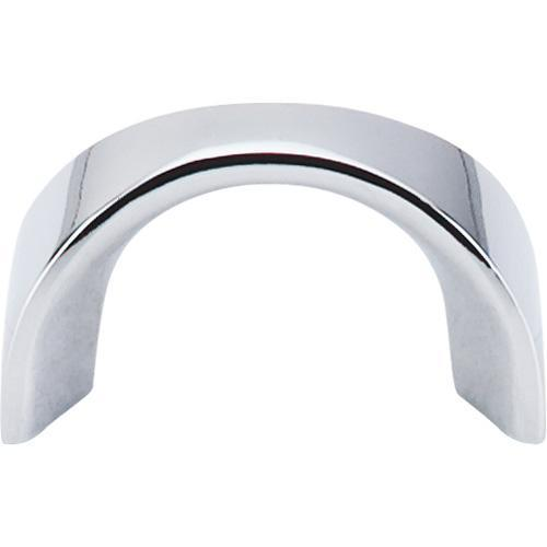 Top Knobs T-M553 Nouveau II Polished Chrome Finger Pull - KnobDepot.com