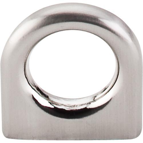 Top Knobs T-M558 Nouveau II Brushed Satin Nickel Ring Pull - Knob Depot