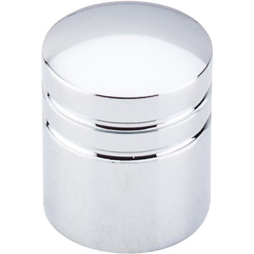 Top Knobs T-M583 Nouveau II Polished Chrome Round Knob - KnobDepot.com