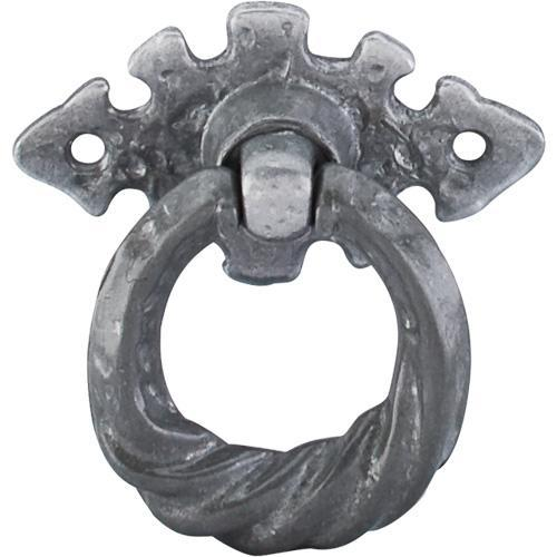 Top Knobs T-M5H Britannia Pewter Light Ring Pull - KnobDepot.com