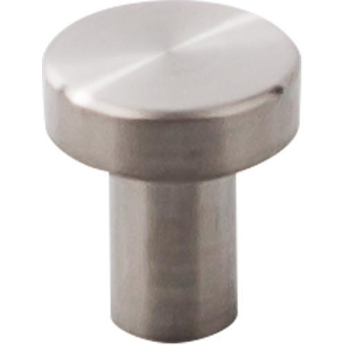 Top Knobs T-SS116 Stainless Steel II Brushed Stainless Steel Round Knob - KnobDepot.com