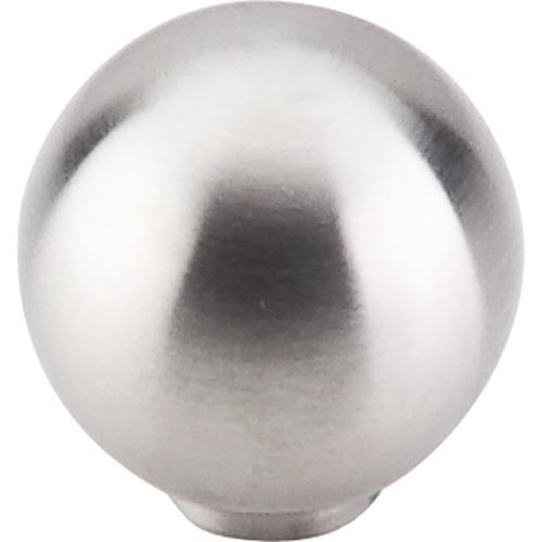 Top Knobs T-SS18 Stainless Steel Brushed Stainless Steel Round Knob - Knob Depot