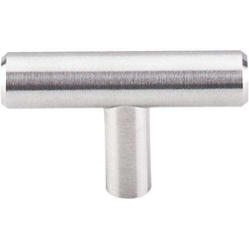 Top Knobs T-SS1 Stainless Steel Brushed Stainless Steel T-Knob - KnobDepot.com