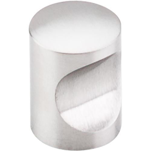 Top Knobs T-SS21 Stainless Steel  Brushed Stainless Steel Round Knob - Knob Depot
