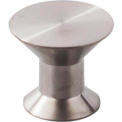 Top Knobs T-SS44 Stainless Steel II Brushed Stainless Steel Round Knob - Knob Depot