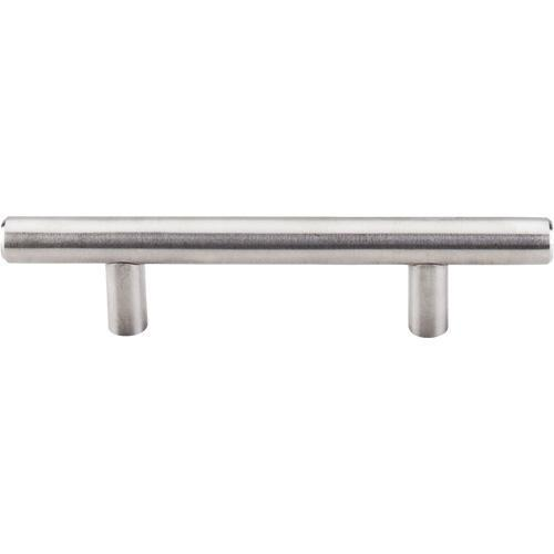 Top Knobs T-SSH1 Stainless Steel  Brushed Stainless Steel Bar Pull - Knob Depot