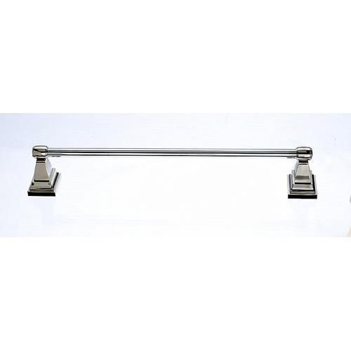 Top Knobs T-STK10AP Stratton - Bathroom Antique Pewter Towel Bar - Knob Depot