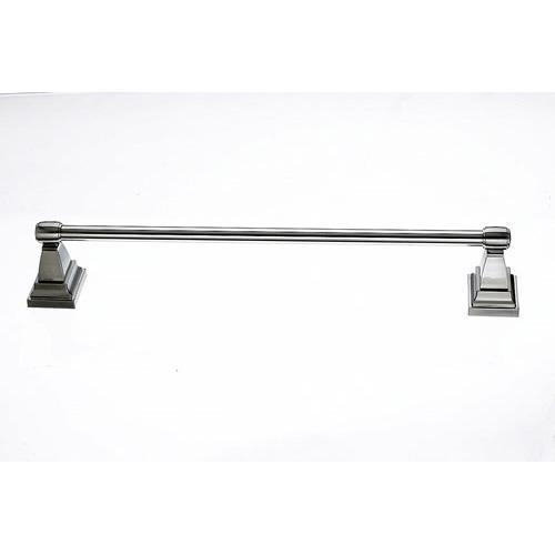 Top Knobs T-STK10BSN Stratton - Bathroom Brushed Satin Nickel Towel Bar - Knob Depot