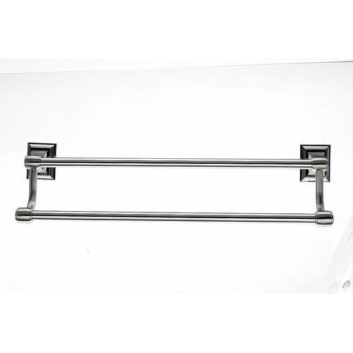 Top Knobs T-STK11BSN Stratton - Bathroom Brushed Satin Nickel Towel Bar - Knob Depot