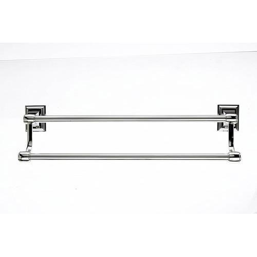 Top Knobs T-STK11PN Stratton - Bathroom Polished Nickel Towel Bar - Knob Depot