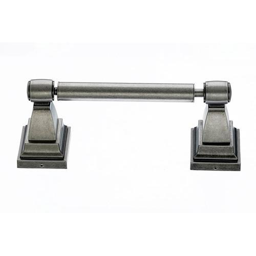 Top Knobs T-STK3AP Stratton - Bathroom Antique Pewter Toilet Tissue Holder - Knob Depot