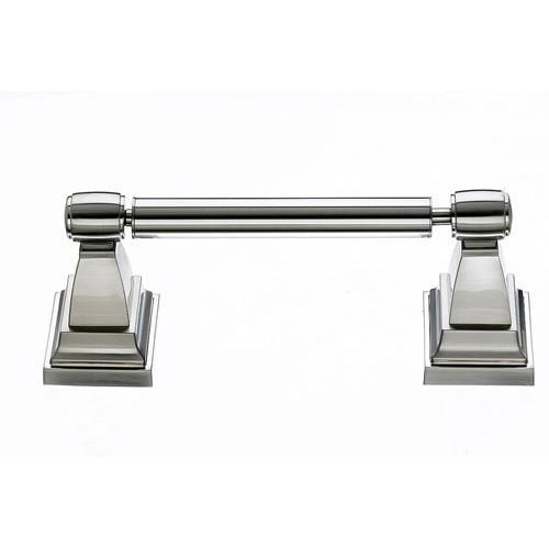 Top Knobs T-STK3BSN Stratton - Bathroom Brushed Satin Nickel Toilet Tissue Holder - Knob Depot