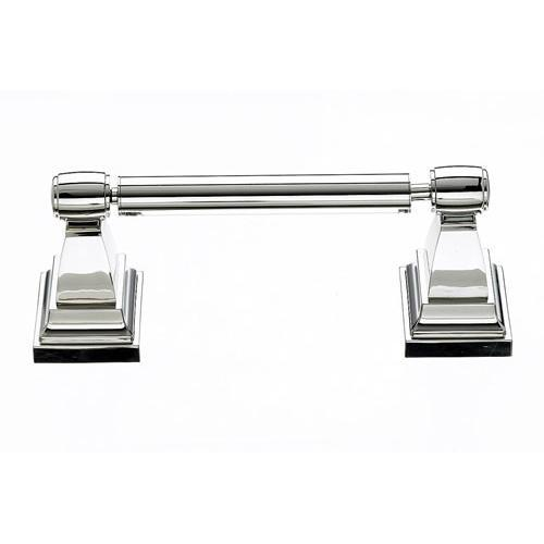 Top Knobs T-STK3PN Stratton - Bathroom Polished Nickel Toilet Tissue Holder - Knob Depot