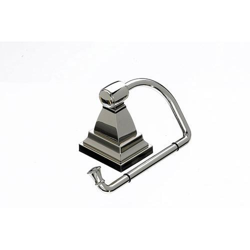 Top Knobs T-STK4PN Stratton - Bathroom Polished Nickel Toilet Tissue Holder - Knob Depot