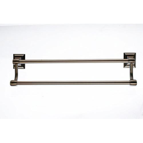 Top Knobs T-STK9BB Stratton - Bathroom Brushed Bronze Towel Bar - Knob Depot
