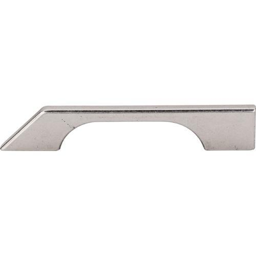 Top Knobs T-TK14PTA Sanctuary Pewter Antique Tapered Bar Pull - KnobDepot.com