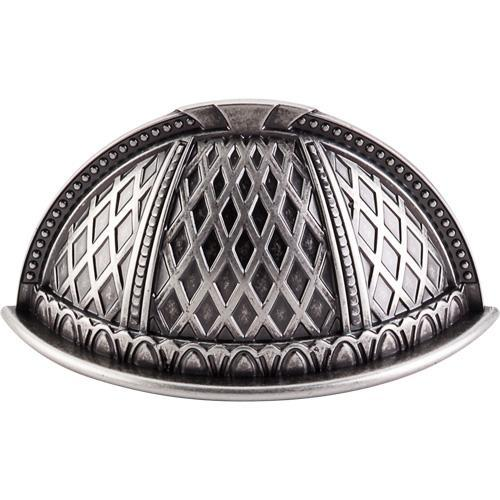 Top Knobs T-TK172PTA Trevi Pewter Antique Cup Pull - KnobDepot.com