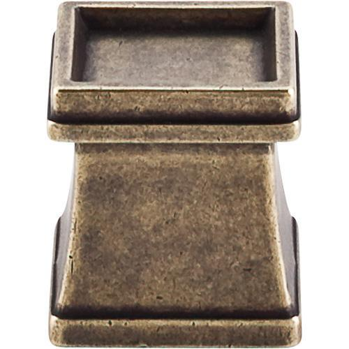Top Knobs T-TK186GBZ Great Wall German Bronze Square Knob - Knob Depot