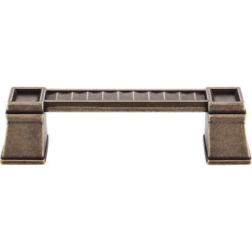 Top Knobs T-TK187GBZ Great Wall German Bronze Standard Pull - KnobDepot.com