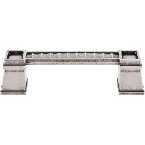 Top Knobs T-TK187PTA Great Wall Pewter Antique Standard Pull - KnobDepot.com