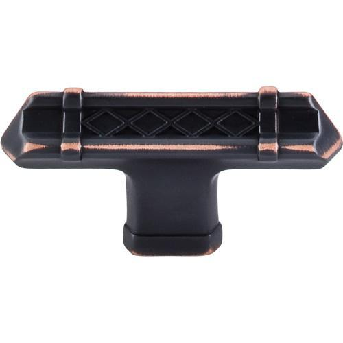 Top Knobs T-TK204UM Tower Bridge Umbrio T-Knob - KnobDepot.com