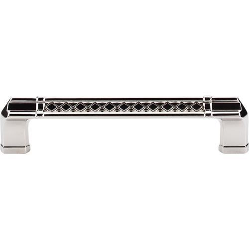 Top Knobs T-TK206PN Tower Bridge Polished Nickel Standard Pull - Knob Depot