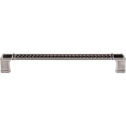 Top Knobs T-TK208BSN Tower Bridge - Appliance Pulls Brushed Satin Nickel Appliance Pull - KnobDepot.com