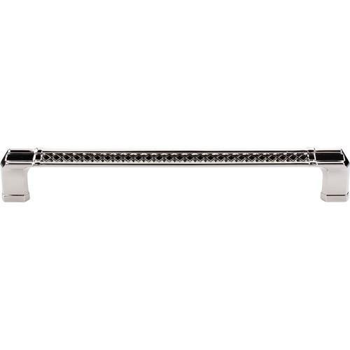 Top Knobs T-TK208PN Tower Bridge - Appliance Pulls Polished Nickel Appliance Pull - KnobDepot.com