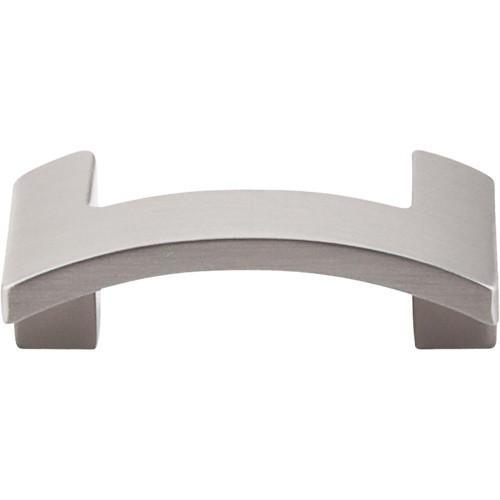 Top Knobs T-TK248BSN Sanctuary II Brushed Satin Nickel Finger Pull - KnobDepot.com