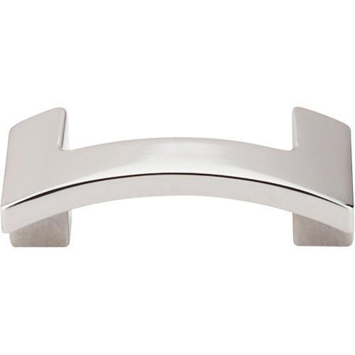 Top Knobs T-TK248PN Sanctuary II Polished Nickel Finger Pull - Knob Depot