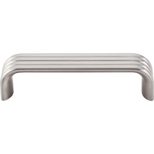 Top Knobs T-TK262BSN Sanctuary II Brushed Satin Nickel Standard Pull - Knob Depot