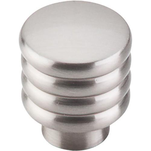 Top Knobs T-TK265BSN Sanctuary II Brushed Satin Nickel Round Knob - Knob Depot