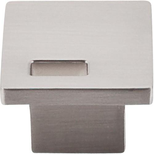Top Knobs T-TK269BSN Sanctuary II Brushed Satin Nickel Square Knob - Knob Depot
