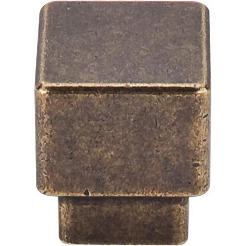 Top Knobs T-TK32GBZ Sanctuary German Bronze Square Knob - KnobDepot.com