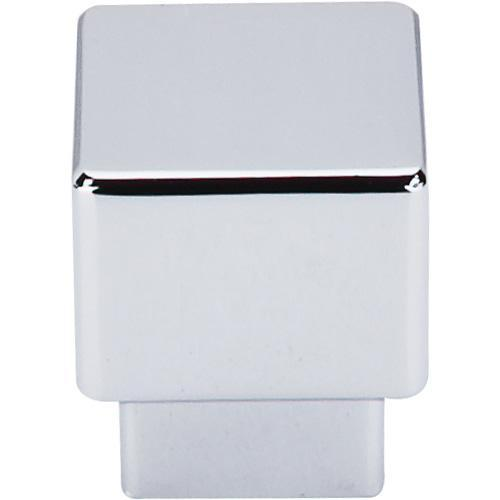 Top Knobs T-TK32PC Sanctuary Polished Chrome Square Knob - KnobDepot.com